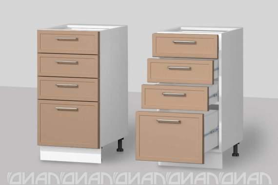 """Шкаф 4 ящика (0,4) """"Лайт"""""""