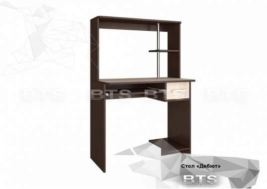 """Компьютерный стол """"Дебют"""" венге/лоредо"""