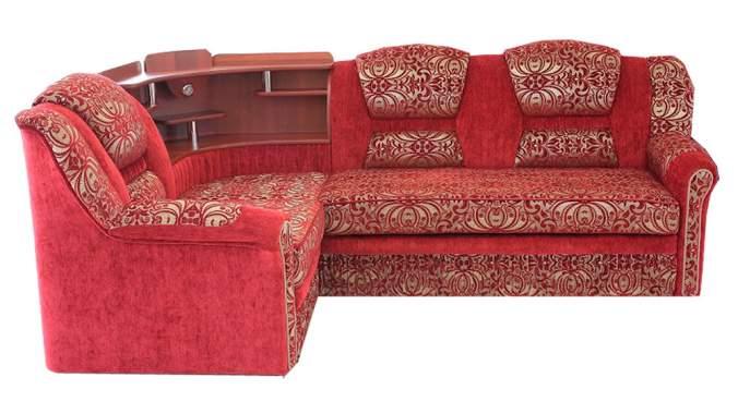Угловой диван Грация с баром