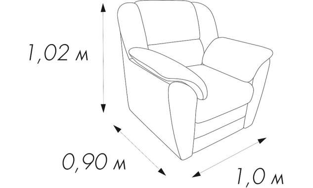 Кресло Грация 5