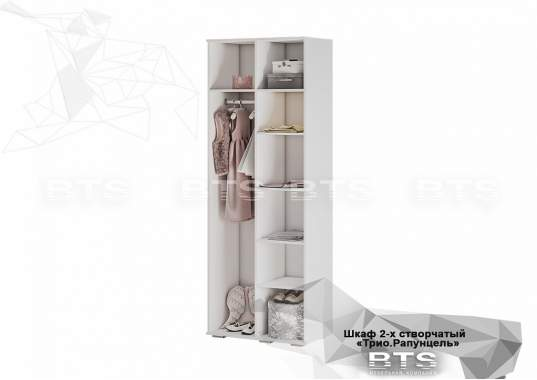 """Шкаф """"Трио"""" ШК-09 2-створчатый Звездное детство"""