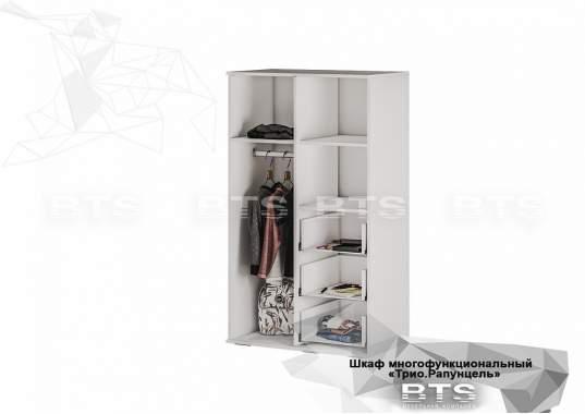 "Шкаф ""Трио"" ШК-10 с ящиками Рапунцель"