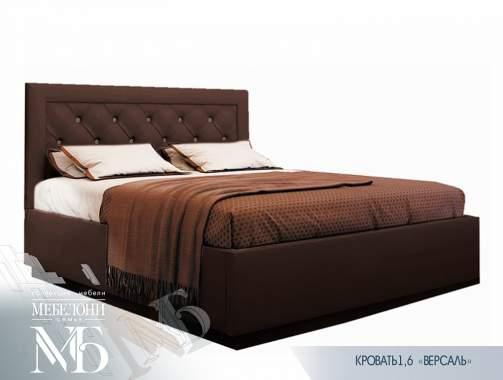 """Кровать """"Версаль"""" 1,6 шоколад (подъемный механизм)"""