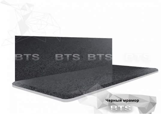 Столешница Черный мрамор 38 мм (1500 мм)