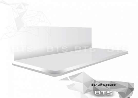 Столешница Белый мрамор 38 мм (1500 мм)