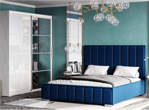 Кровать МИРАБЕЛЬ 1,6 графит (подъемный механизм)