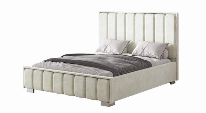 Кровать МИРАБЕЛЬ 1,6 крем (подъемный механизм)