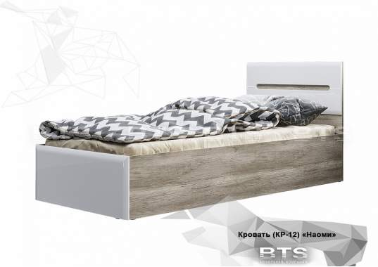 """Кровать """"Наоми"""" КР-12 0,9 м"""