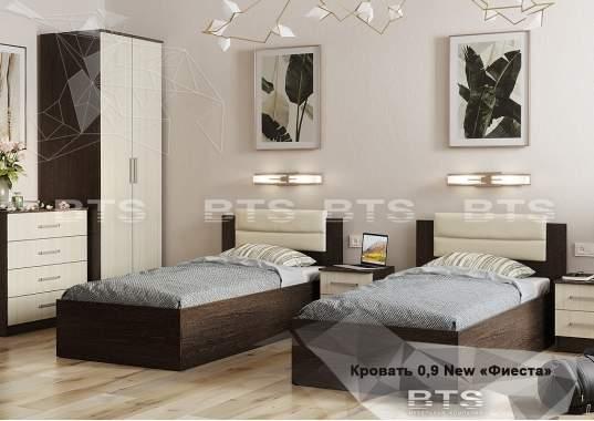 """Кровать """"Фиеста"""" NEW 0,9 м"""