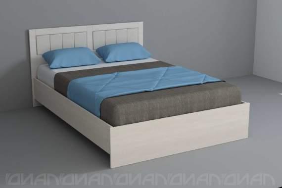 """""""Кантри"""" Кровать 1,4 арт. 015"""