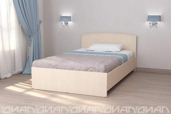 Кровать «ЛДСП» арт. 032 н/щ 1,2