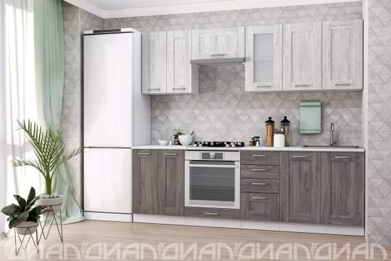 """Кухня """"Лофт"""" вариант 9 (2,4)"""
